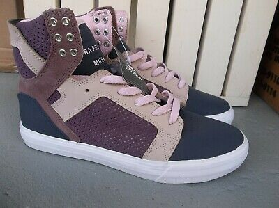 NWT MENS SUPRA SKYTOP NAVY-MUSHROOM SNEAKERSSHOES SIZE 9-BRAND NEW FOR 2020
