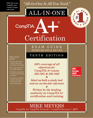 E-edition CompTIA A- Certification All-in-One Exam Guide 220-1001-1002 10th Ed