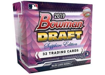 2019 Bowman Draft Sapphire Cracked Ice Base Atomic Prospect Refractor U Pick Set