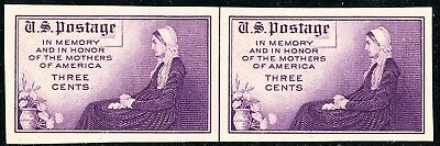 US Scott 754 Mothers Day FARLEY 3¢ Imperforate LP MNH NGAIFREE SHIP