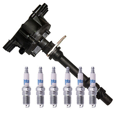 ACDelco Spark Plugs - Ignition Distributor for 96-05 Chevy GMC Pickup Truck 4-3L