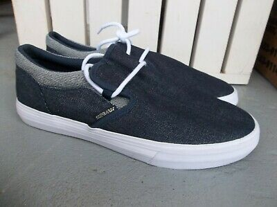 NWT MENS SUPRA CUBA SNEAKERSSHOES SIZE 9-DENIM-BRAND NEW FOR 2020