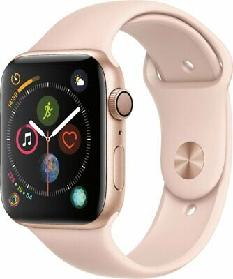 Apple Watch Series 4 40mm Gold Aluminum Case with Pink Sport Band GPS
