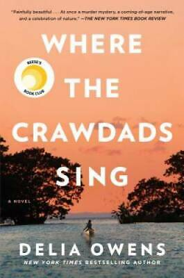 Where the Crawdads Sing - Hardcover By Owens Delia - VERY GOOD
