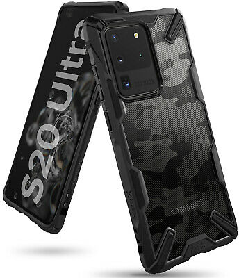 For Samsung Galaxy S20  S20 Plus  S20 Ultra Case Ringke FUSION-X Cover