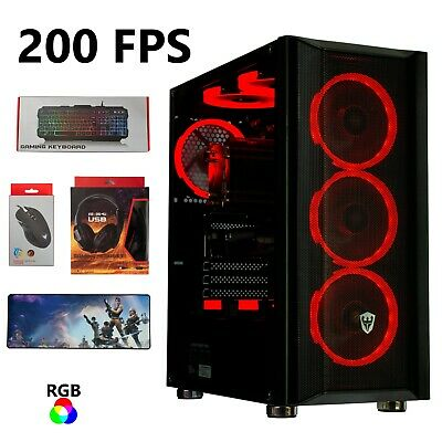 Gaming Pc Desktop Computer UPGRADED SSD-HDD 32GB RAM Wi-Fi Streaming PC