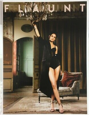FLAUNT MAGAZINE-THE HOME ISSUE-A RETURN-No-169-KATIE HOLMES-Brand New