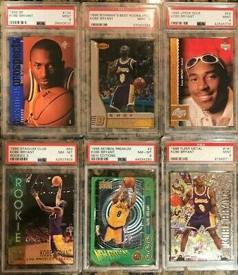 BUYBACK PACK PLEASE READ  KOBE BRYANT 1996 PSA ROOKIE RC CHASE PACK