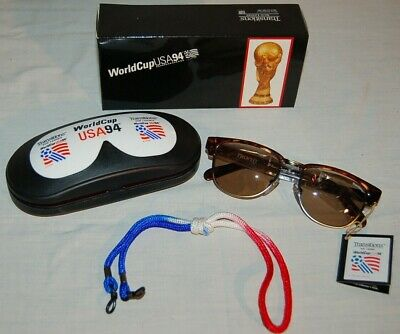 Vintage WORLD CUP USA 1994 SUNGLASSES TRANSITIONS - NWT in Hard Case and Box