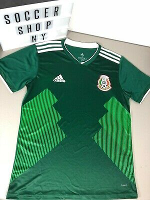 Adidas Mens Mexico Home Jersey World Cup 2018 Small Medium BQ4689