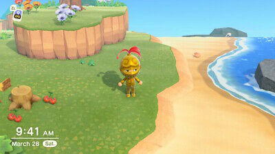 FULL Gold Armor outfit Recipe - Animal Crossing New Horizons