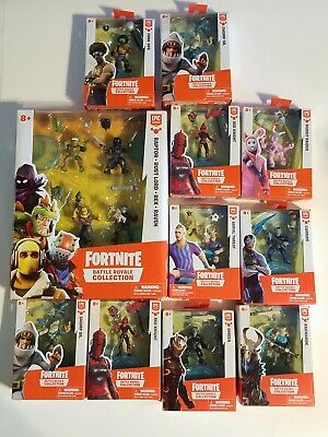 LOT OF 14 Fortnite Battle Royale Collection Squad Pack and Single Epic Games