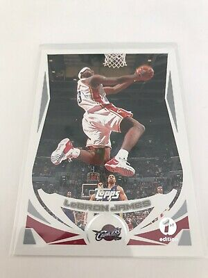 2004 Topps Lebron James 1st Edition 23- Tough 2nd Year Card-
