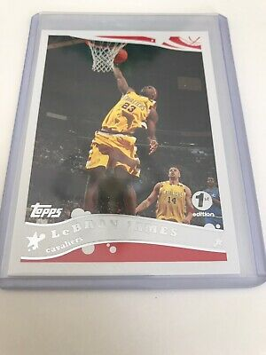 2005 Topps Lebron James 1st Edition-   200-