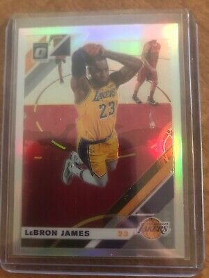 2019-20 Optic Lebron James Silver Holo Refractor Mint 60 Los Angeles Lakers