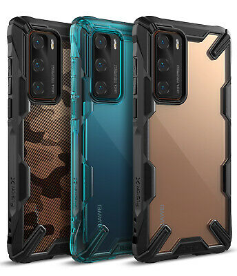 For Huawei P40  P40 Lite  P40 Pro Case Ringke FUSION-X Shockproof Cover