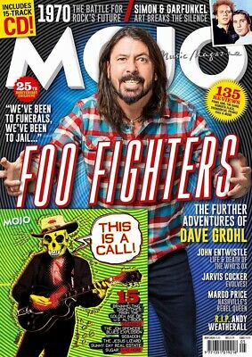 MOJO Magazine-ISSUE 318-MAY 2020-FOO FIGHTERS-PLUS CD-Brand New