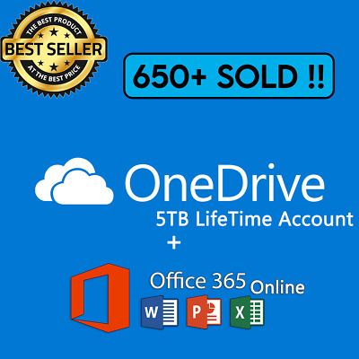 🔥OneDrive 5TB Account  Custom Username  Fast Delivery  Cheap 🔥