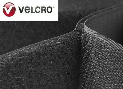 Velcro® Brand 1 Inch Wide Black Hook and Loop - Sew On Type - 12 Inches - Uncut