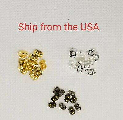 50 PCs Ear Nuts Earring Backs