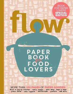 FLOW PAPER BOOK FOR FOOD LOVERS- FIRST PAPER BOOK-2020-BRAND NEW