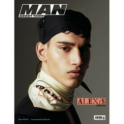 MAN ABOUT TOWN MAGAZINE-2020-CHAPTER 1-ALEXIS CHAPARRO-Brand New
