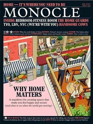 MONOCLE MAGAZINE-MAY 2020-WHY HOME MATTERS-Brand New