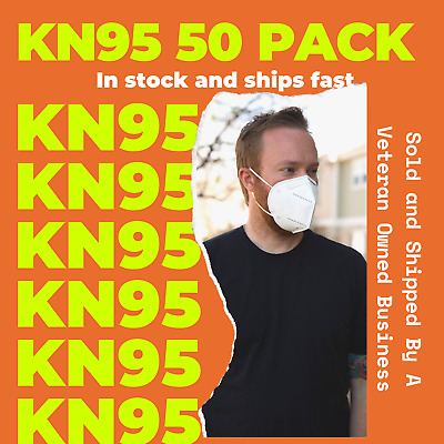 50 PACK KN95 Protective Face Mask - USA Seller - Fast Ship
