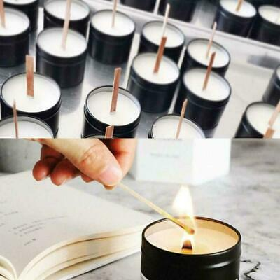 Wooden Candle Wick Core Wick With Iron Stand Making Size Multi Party DIY L1W4