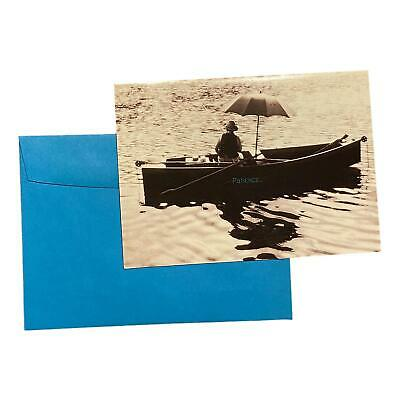 Fathers Day Greeting Card - Patiene- - For Dad with Dad went Fishing