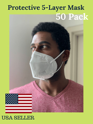 50 PACK Protective Face Mask KN95 - USA Seller - Fast Ship
