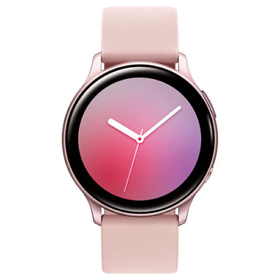 Samsung Galaxy Watch Active 2 SM-R830 40mm Aluminum Case with Sport Band -PINK