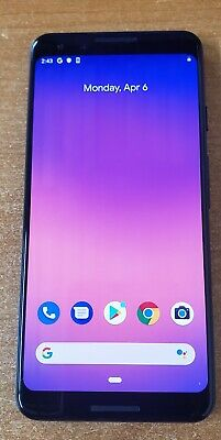 Google Pixel 3 - 64GB - Just Black Verizon and Unlocked 5-5