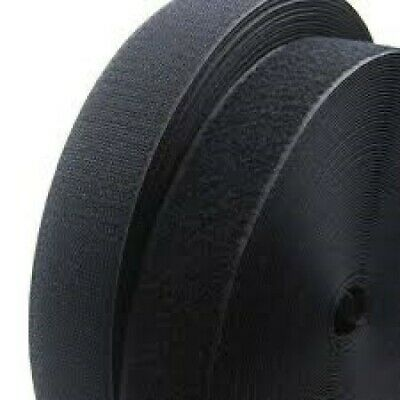 Velcro® Brand 2 Inch Wide Black Hook and Loop Set - Sew-On Type - 12 Inches