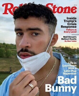 ROLLING STONE MAGAZINE-JUNE 2020-ISSUE 1340-BAD BUNNY-Brand New
