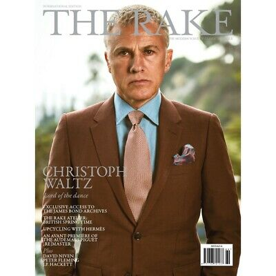 THE RAKE MAGAZINE-ISSUE 69 2020-CHRISTOPH WALTZ-LORD OF THE DANCE-Brand New
