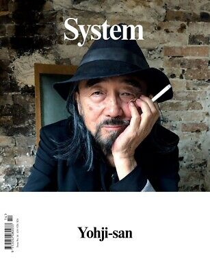 SYSTEM MAGAZINE-ISSUE 14-YOHJI YAMAMOTO Cover Photographed By JUERGEN TELLER
