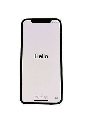 Apple iPhone X 256gb- Silver - Unlocked - Excellent Condition-free charging case