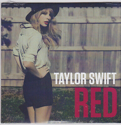 TAYLOR SWIFT Limited Edition Individually Numbered  RED  CD Single - SEALED