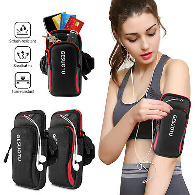Armband Arm Band Bag Case Phone Card Holder Pouch Gym Running Jogging Cellphone