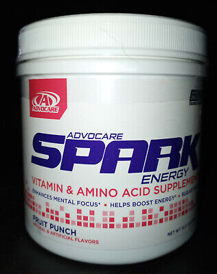 Advocare Spark Canister 42 servings Energy Pick Flavor Quick FREE Shipping