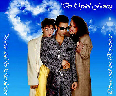 Prince The Crystal Factory 3-CD Dream Factory  Crystal Ball  Sign O The Times