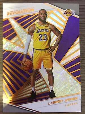 LEBRON JAMES 2018-19 Panini Revolution 40 First Los Angeles Lakers Card