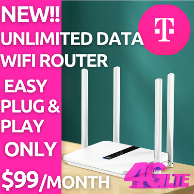 ATT 4G LTE Unlimited HOTSPOT Data 99-99 UNTHROTTLED NO CAPS TRULY UNLIMITED SIM