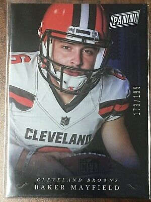 2018 Panini Black Friday Baker Mayfield Rookie Insert Sp Rc 'd 173199 - Browns