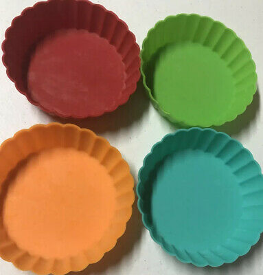 Silicone Tart Pans Only For Raddish Kids Cooking Kit COOK THE RAINBOW