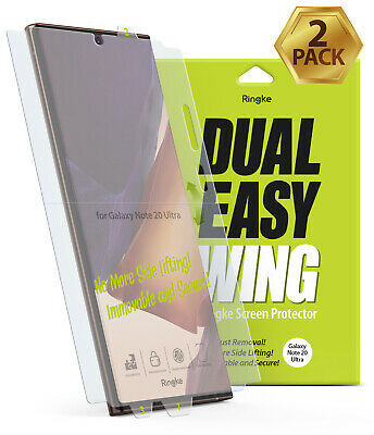 For Galaxy Note 20  Note 20 Ultra Screen Protector Ringke Dual Easy Wing Film
