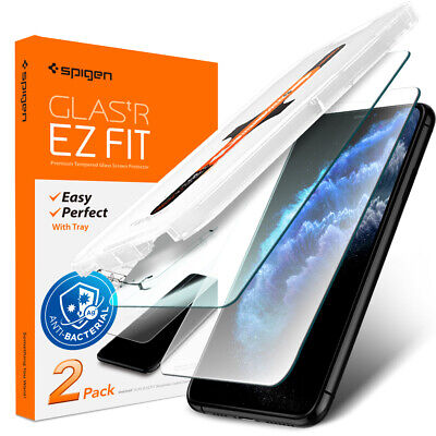 iPhone 11 Pro 11 Pro Max Screen Protector Spigen® Glas-tR EZ Fit AG- 2PACK