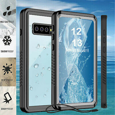 Waterproof Shockproof w Screen Protector For Galaxy S10 S9 S8 Plus Case Cover 7