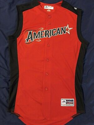 AUTHENTIC 2019 MLB All Star Game Sleveless Majestic Baseball Jersey Men's Small